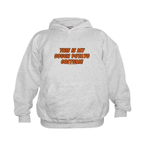 This Is My Couch Potato Costu Kids Hoodie