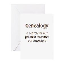 Genealogy Treasures Greeting Cards (Pk of 10)