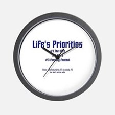 Life's Priorities Wall Clock