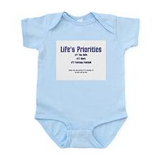 Life's Priorities Infant Creeper