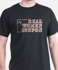 REAL WOMEN COUPON T-Shirt