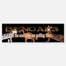Bengals: all the cool kids ar Bumper Bumper Bumper Sticker