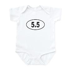 5.5 Infant Bodysuit