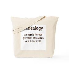 Genealogy Treasures Tote Bag