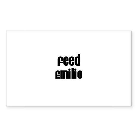 Feed Emilio Rectangle Sticker