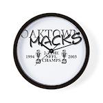 MACK$ Wall Clock