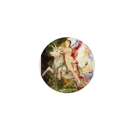Gustave Moreau's Europa and the Bull Mini Button (