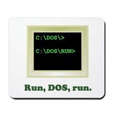 Run, DOS, Run Mousepad