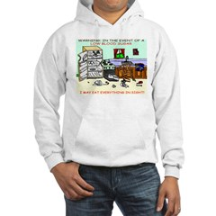 Warning: In the event of a lo Hoodie