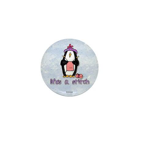 life's a stitch Mini Button (100 pack)
