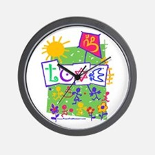 Kids LOVE Playground Wall Clock