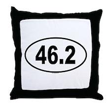 46.2 Throw Pillow