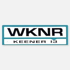 WKNR (Keener)Bumper Bumper Bumper Sticker