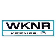 WKNR (Keener)Bumper Bumper Sticker