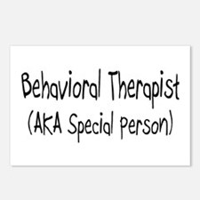 Behavioral Therapist (AKA Special person) Postcard