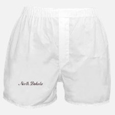 Vintage North Dakota Boxer Shorts