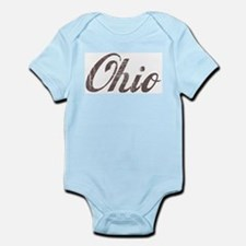 Vintage Ohio Infant Creeper