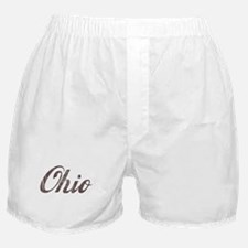 Vintage Ohio Boxer Shorts