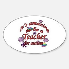 Amazing teaching Oval Decal