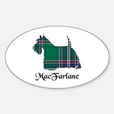 Terrier-MacFarlane hunting Sticker (Oval)