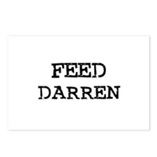 Feed Darren Postcards (Package of 8)