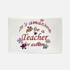 Autism Teacher Rectangle Magnet
