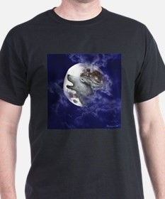 Moon Wolf ~ (2 Sides) T-Shirt
