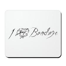 I Heart Bondage Mousepad