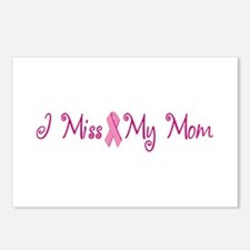 I Miss My Mom (Breast Cancer) Postcards (Package o