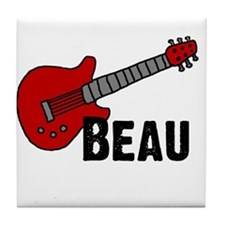 Guitar - Beau Tile Coaster