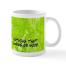 nothing that chews or moos Mug