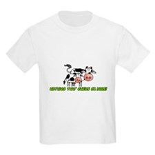 nothing that chews or moos T-Shirt