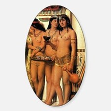 Collier's Pharaoh's Handmaidens Oval Decal
