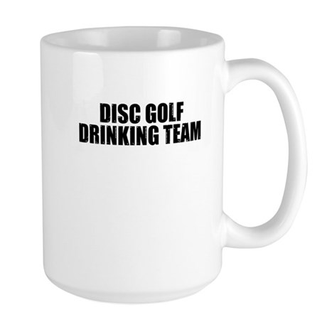 Disc Golf Drinking Team Large Mug