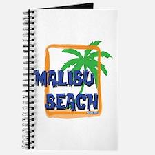 Malibu Beach Palm Tree Journal