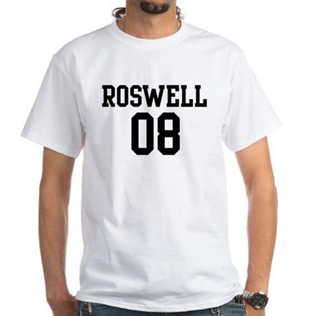 Roswell 08 White T-Shirt