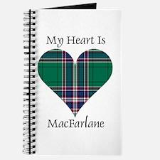 Heart-MacFarlane hunting Journal