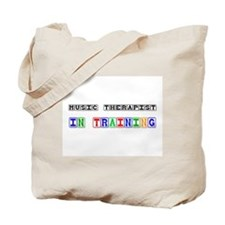 Music Therapist In Training Tote Bag