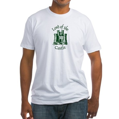 Lord of the Castle Fitted T-Shirt