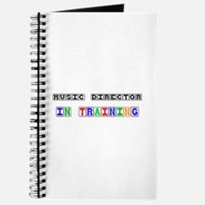 Music Director In Training Journal