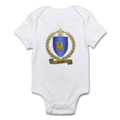 HEBERT Family Crest Infant Creeper