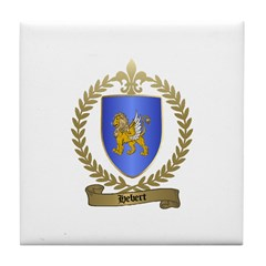 HEBERT Family Crest Tile Coaster