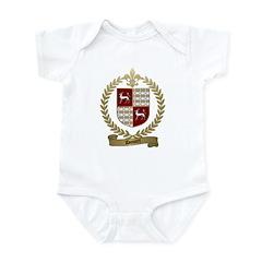 DOUCET Family Crest Infant Creeper