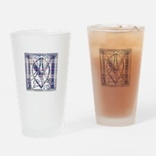 Monogram-MacFarlane dress Drinking Glass