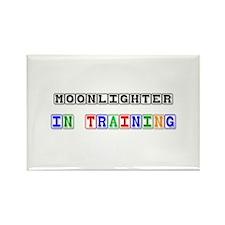Moonlighter In Training Rectangle Magnet