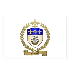 GIROUARD Family Crest Postcards (Package of 8)