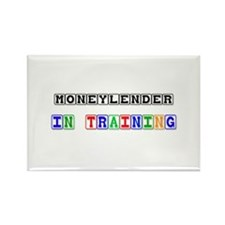Moneylender In Training Rectangle Magnet