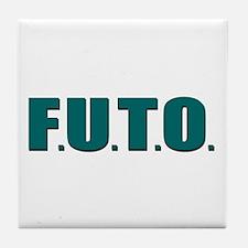 F.U.T.O. Tile Coaster