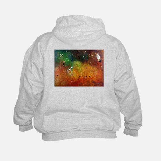 Kokopelli for Kids (Sweatshirt) Inipi on the back