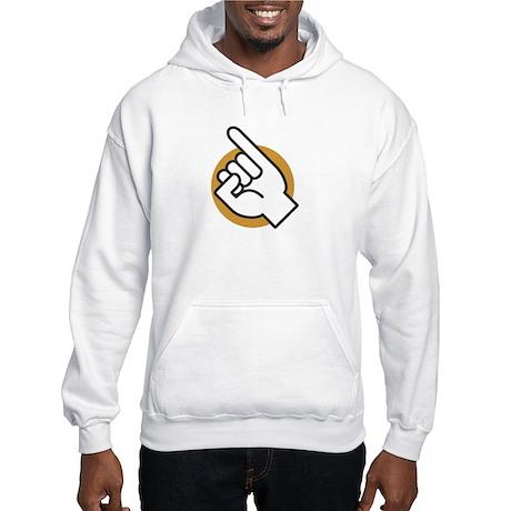 Doctor Evil Pinky Hooded Sweatshirt